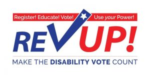 The image shows the word ReVup! with a large checkmark.