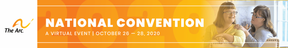 The Arc of the United States National Convention: A Virtual Event October 26-28, 2020
