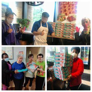 Ledo's Pizza Donates 80 Pizzas to The Arc of Howard County