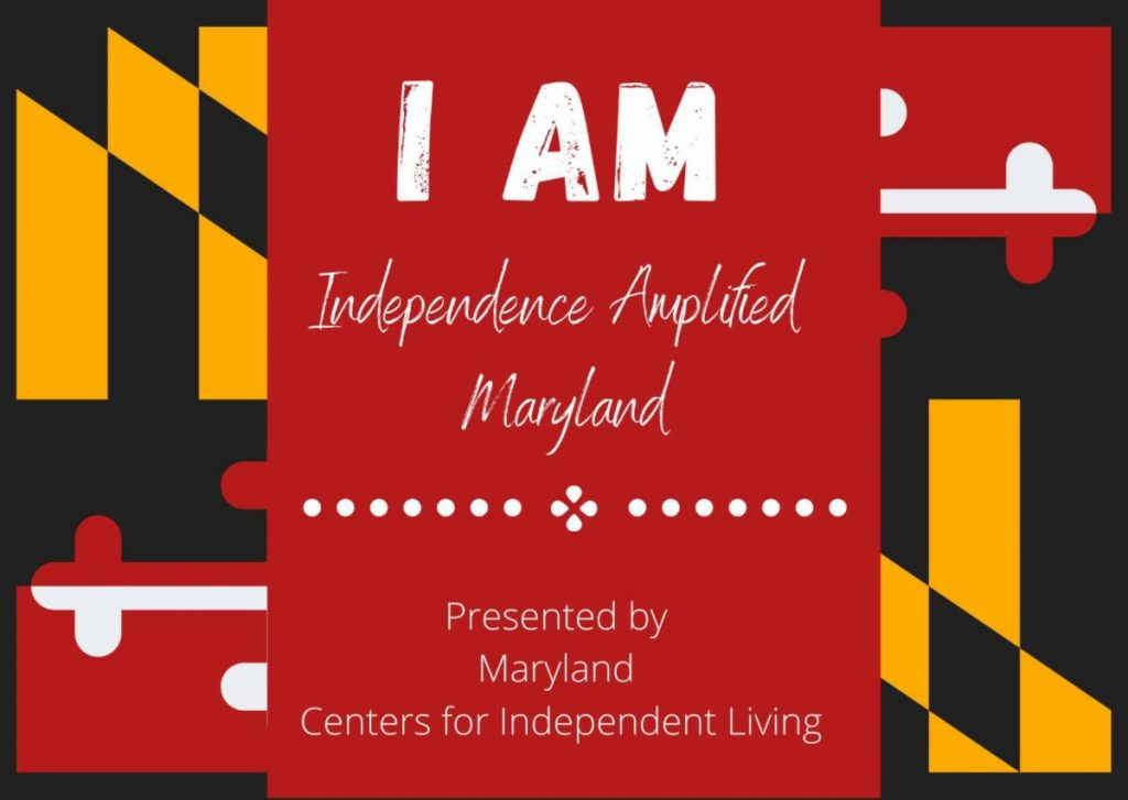 I AM (Independence Amplified Maryland) Logo