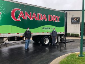 Canada Dry Potomac Corp. Donated Cases of Essentia Water to The Arc of Howard County!