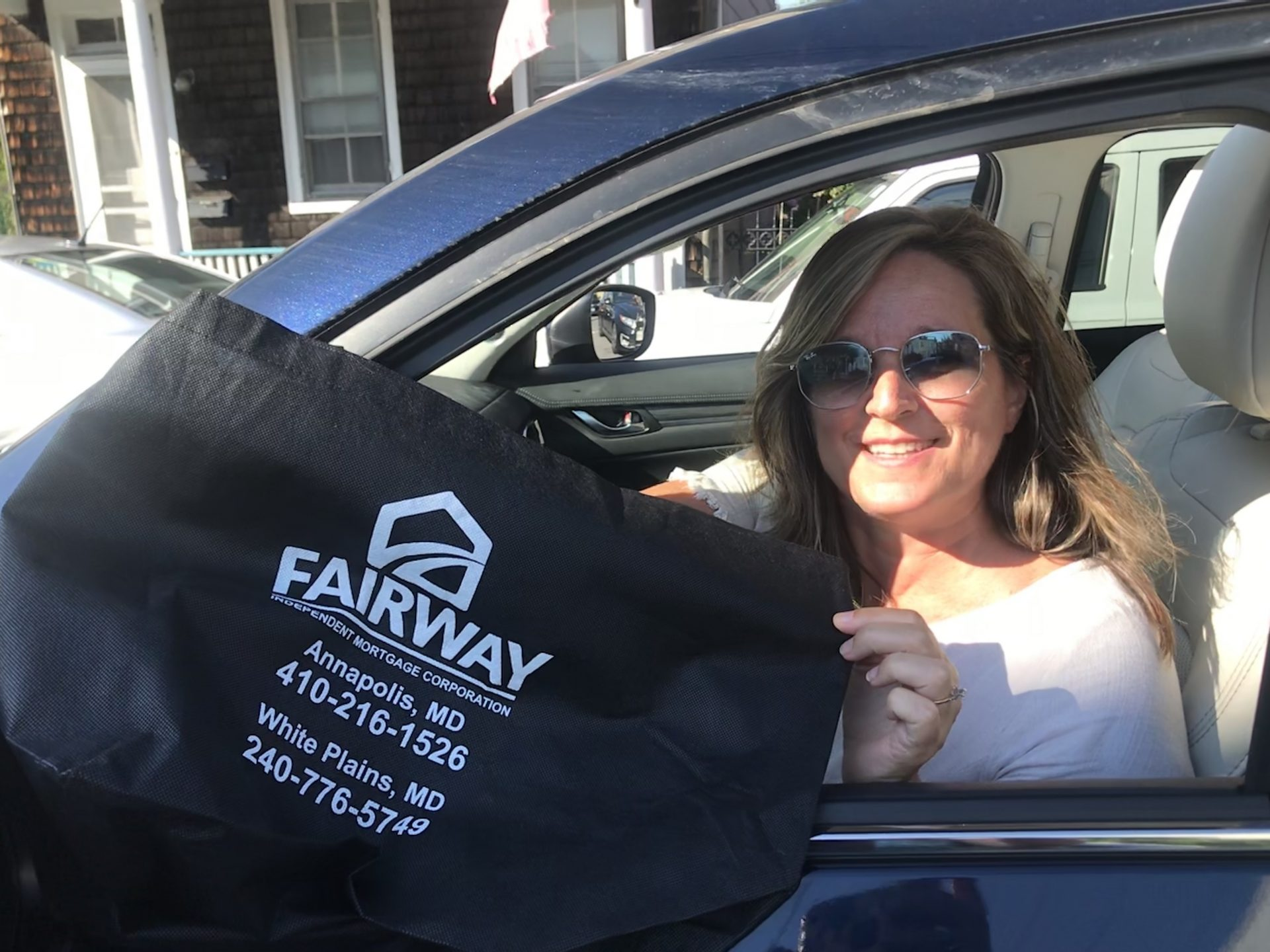 Fairway Independent Mortgage Corporation Donates Bags to The Arc of Howard County's comfort bag program!