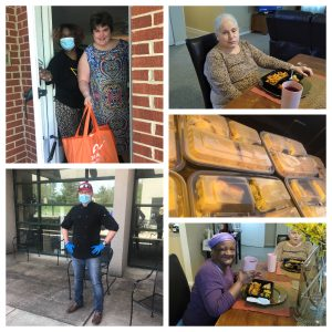 Feed Howard County Donated 100 Meals from Tino's Italian Bistro to The Arc of Howard County